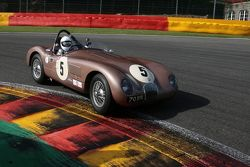 #5 Jaguar C-type: Wil Arif, Alex Buncombe