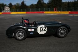 #122 Jaguar C-type: Nick Finburgh, John Clark