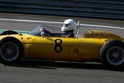 #8 Jan Biekens, Ferrari 156