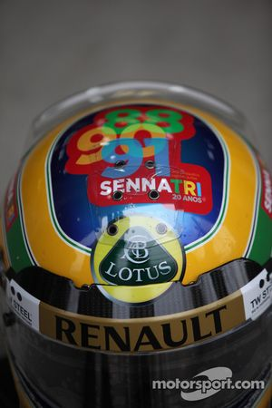 Шлем Бруно Сенны, Lotus Renault GP