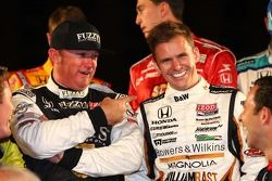 Buddy Rice and Dan Wheldon