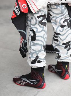 Ботинки Льюиса Хэмилтона, McLaren Mercedes