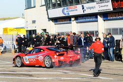 #51 AF Corse Ferrari F458 Italia: Dan Brown/Glynn Geddie