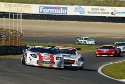 #13 Fischer Racing Ford GT: Markus Palttala/Jessi Krohn