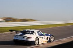 #44 Heico Motorsport Mercedes-Benz SLS AMG GT3 Dominik Baumann/Brice Bosi