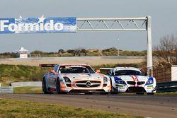 #11 Gravity Charouz Racing Mercedes-Benz SLS AMG GT3: Leo Machitski/Stefano Rosina