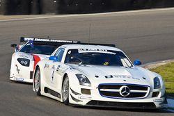 #4 Graff Racing Mercedes-Benz SLS AMG GT3: Philippe Giaque/Thomas Jäger