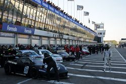 #39 Team Cine Cascade Lamborghini Gallardo LP600: Jean-Claude Laginez/Julien Briché