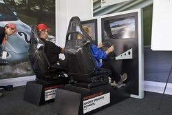 Porsche Sport Driving School using simulators