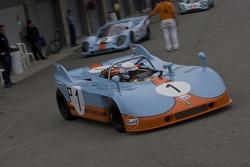 №1 Брайан Редман, Porsche 908/3 1971