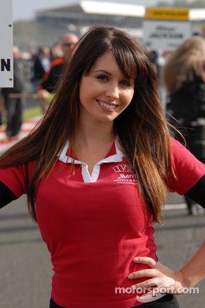 Welch Motorsport gridgirl
