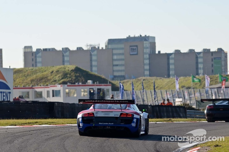 #23 United Autosports Audi R8 LMS: Zak Brown/Matt Bell