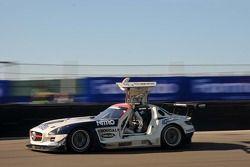 #44 Heico Motorsport Mercedes-Benz SLS AMG GT3: Dominik Baumann/Brice Bosi