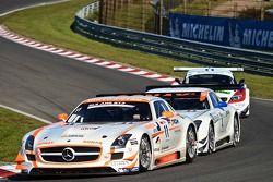 #11 Gravity Charouz Racing Mercedes-Benz SLS AMG GT3: Leonid Machitski/Stefan Rosina