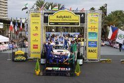 Patrick Flodin en Goran Bergsten, Mini John Cooper Works WRC