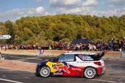 Sébastien Ogier en Julien Ingrassia en Citroën DS3 WRC, Citroën Total World Rally Team