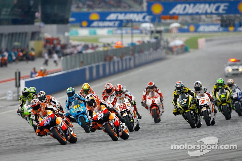 Start in Malaysia: Es ist Simoncellis letztes Rennen