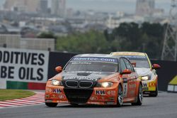 Norbert Michelisz, BMW 320 TC, Zengo-Dension Team and Mehdi Bennani, BMW 320 TC, Proteam Racing
