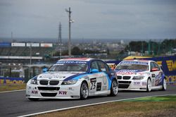 Mehdi Bennani, BMW 320 TC, Proteam Racing and Kristian Poulsen, BMW 320 TC, Liqui Moly Team Engstler