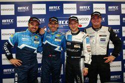Yvan Muller, Chevrolet Cruz 1.6T, Chevrolet 2nd position, Alain Menu, Chevrolet Cruze 1.6T, Chevrole