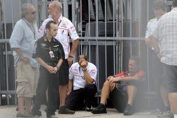 La reazione del Team Gresini alla notizia della morte di Marco Simoncelli