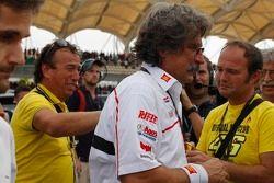 La reazione dell papà di Marco Simoncelli alla notizia della morte del figlio
