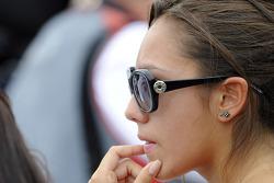 Novia de Simoncelli reacciona a la noticia de su fallecimiento