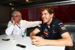 Берни Экклстоун и Себастьян Феттель, Red Bull Racing - интервью
