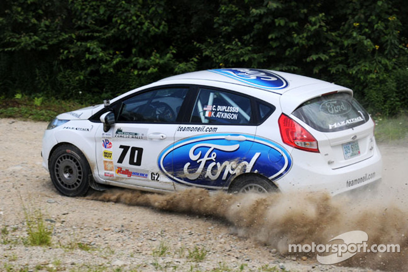 Chris Duplessis and Karl Atkinson, Team O'Neil Ford Fiesta