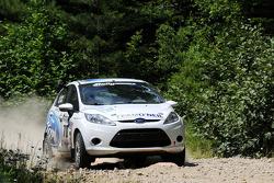 Chris Duplessis and Karl Atkinson, Team O'Neil Ford Fiesta