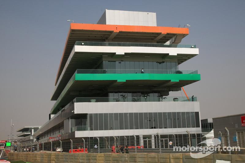 Race Control building