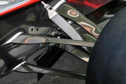 McLaren Mercedes Technical detail font suspension
