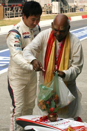 Kamui Kobayashi, Sauber F1 Team, Sauber F1 Team