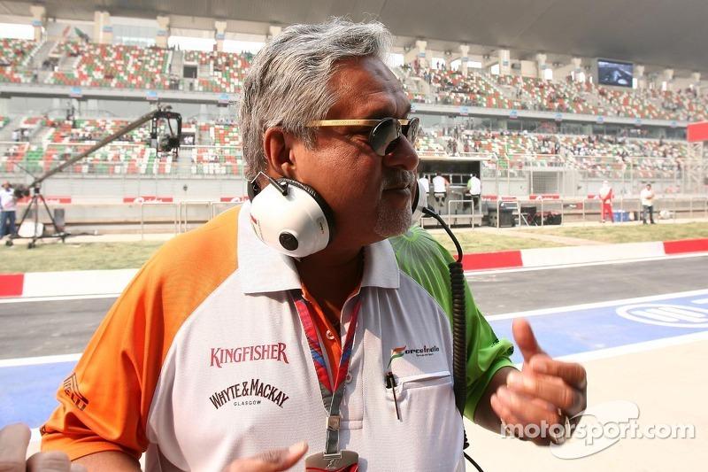 Vijay Mallya, Force India F1 Team Owner