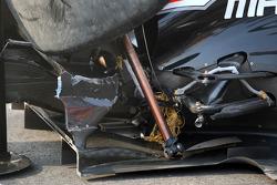 J��r��me d'Ambrosio, Marussia Virgin Racing, damage detay after kazaing