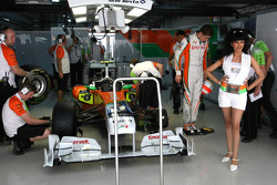 Girls, Girl, Babe, Paul di Resta, Force India F1 Team