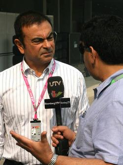 Carlos Ghosn, CEO Renault-Nissan