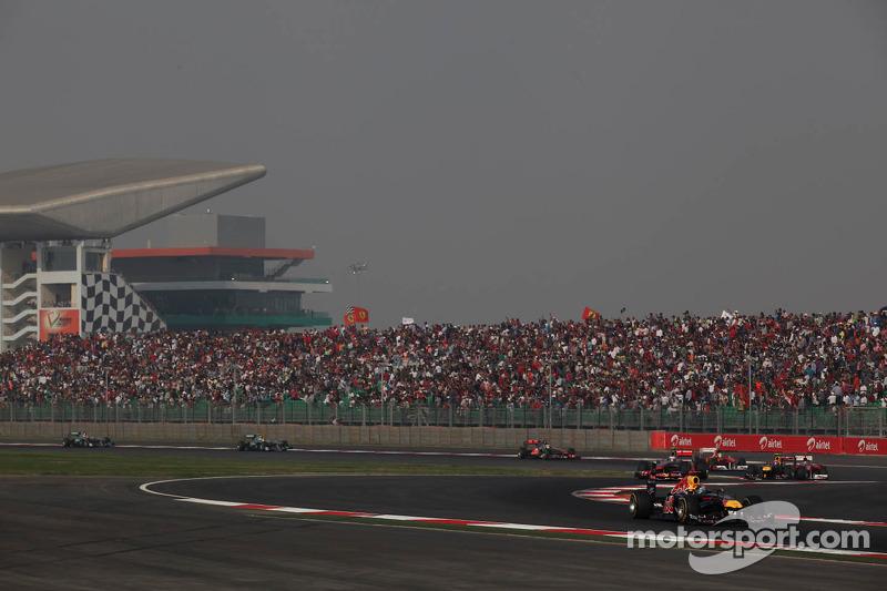 2011 - جائزة الهند الكبرى: سيباستيان فيتيل، ريد بُل