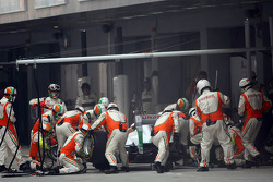 Paul di Resta, Force India F1 Team pit stop