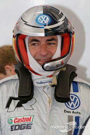 Карлос Сайнс на тестах нового Volkswagen Polo R WRC
