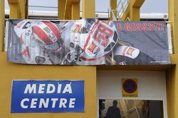 Marco Simoncelli anısına medya merkezi