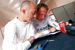 David Brabham en Jamie Campbell-Walter