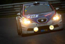 #141 Costa Ovest Promotorsport Seat Leon: Umberto Nacamuli, Andrea Melato, Gianni Checcoli, Marco Biancardi