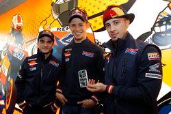 Dani Pedrosa, Casey Stoner, Andrea Dovizioso, Repsol Honda Team