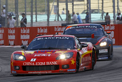 #11 Exim Bank Team China Corvette Z06: Francesco Pastorelli, Yelmer Buurman