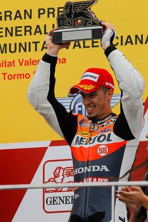 Podio: tercer lugar Andrea Dovizioso