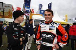 Javier Villa, BMW 320 TC, Proteam Racing and Norbert Michelisz, BMW 320 TC, Zengo-Dension Team