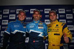 Press conference, Robert Huff, Chevrolet Cruze 1.6T, Chevrolet 3rd position, Alain Menu, Chevrolet C