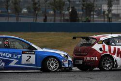 Robert Huff, Chevrolet Cruze 1.6T, Chevrolet and Gabriele Tarquini, SEAT Leon 2.0 TDI, Lukoil