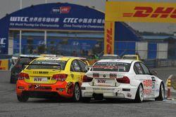 Yukinori Taniguchi, Chevrolet Lacetti, Bamboo-Engineering and Charles Ng, BMW 320si, Liqui Moly Team